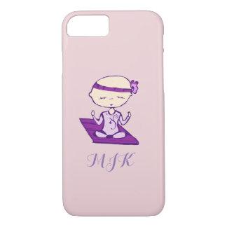 I skip naps yoga babe iPhone 7 case