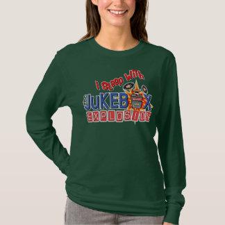 I Sleep with The Jukebox Explosion Nightshirt T-Shirt