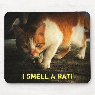 I Smell A Rat! Mouse Pad