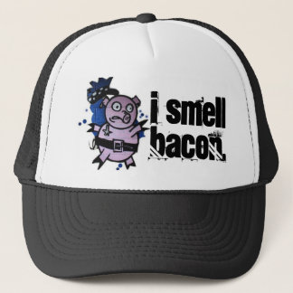 i smell bacon trucker hat