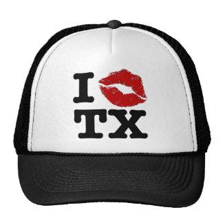 """I """"smooch"""" Texas Cap"""