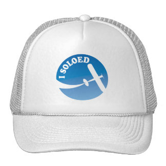 I Soloed Airplane Graphic Mesh Hat