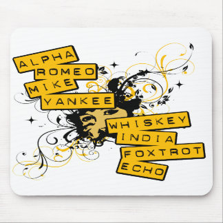 I Speak Army Mouse Mat