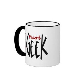 I Speak Fluent Geek Coffee Mugs
