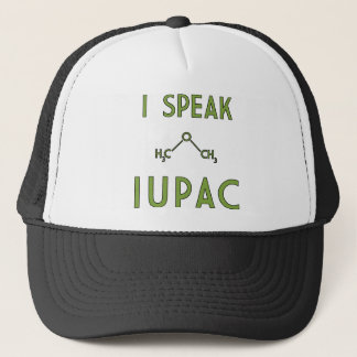 I Speak IUPAC Trucker Hat