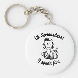 I Speak Jive Keychains