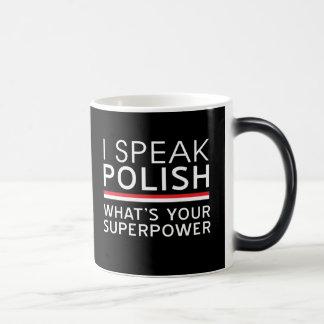 I Speak Polish What's Your Superpower? Magic Mug