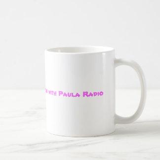 I spend my Friday nights with Paula Radio Classic White Coffee Mug
