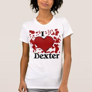 I Splatter Heart Dexter T-Shirt