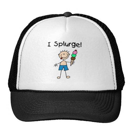 I Splurge Tshirts and Gifts Trucker Hat