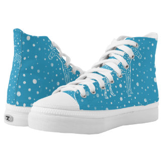 I Spot a Blue Unicorn shoe Printed Shoes