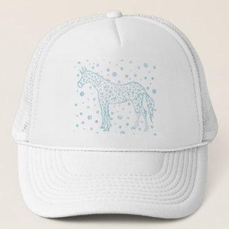 I Spot a Blue Unicorn Trucker Hat