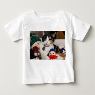 I Spy A Calico Baby T-Shirt