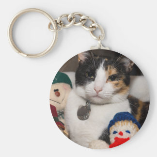 I Spy A Calico Key Ring