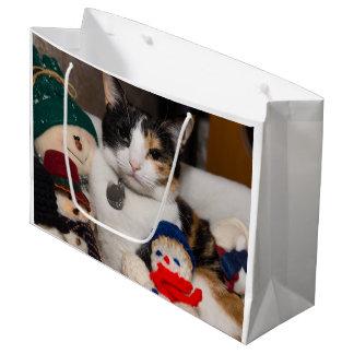 I Spy A Calico Large Gift Bag