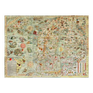 """I Spy"" Kids Fun Map Supersized Poster"