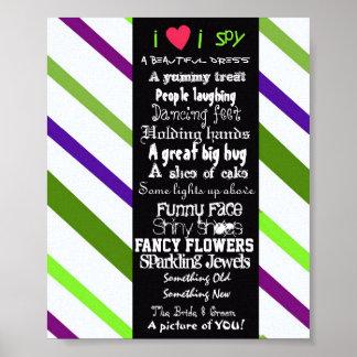 I SPy wedding poster