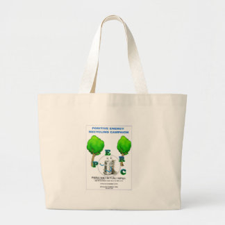 I STAND 4 POSITIVE ENERGY RECYCLING CAMPAIGN BAG