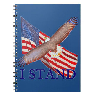 i stand for America Notebook