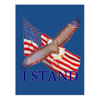 i stand for America Postcard
