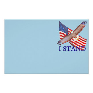 i stand for America Stationery