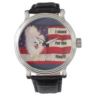I stand for the flag watch