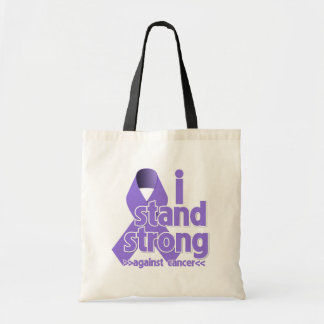I Stand Strong Against Hodgkin's Lymphoma Cancer Bags