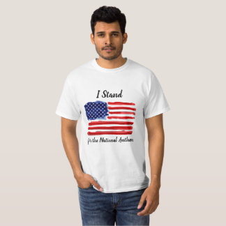 I Stand - United States of America Flag T-shirt