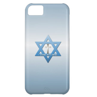 I Stand With Israel Christian Cross iPhone 5C Case