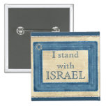 I Stand With Israel Pin