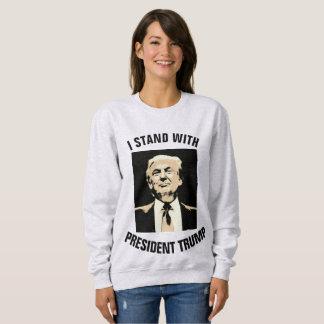 I STAND WITH PRESIDENT TRUMP t-shirts sweashirts
