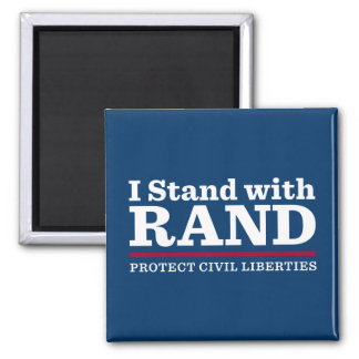 I Stand With Rand Fridge Magnet