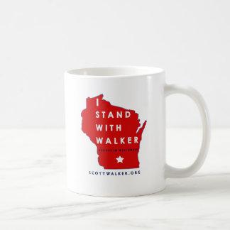 I Stand With Scott Walker Mugs