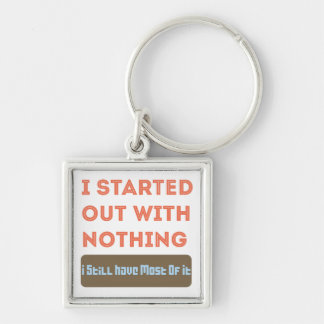 I started with Nothing Key Chains