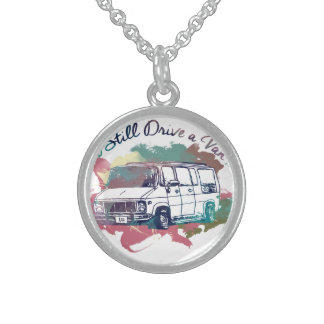 I Still Drive A Van Sterling Silver Necklace