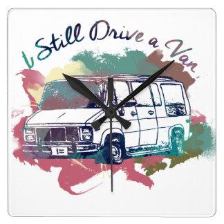 I Still Drive A Van Wallclock