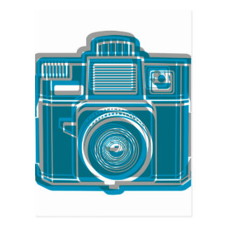 I Still Shoot Film Holga Logo Postcard