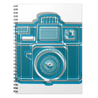 I Still Shoot Film Holga Logo Spiral Notebook
