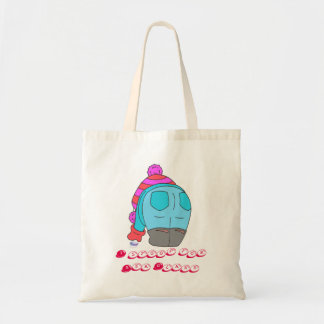 I stoop for Seaham Sea Glass Tote Bag