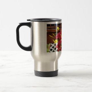 I Stop For Daylilies Travel Mug