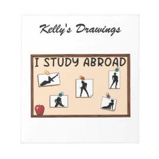 I Study Abroad Notepad