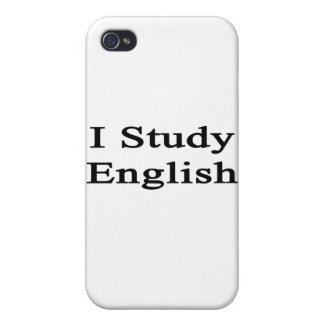 I Study English iPhone 4/4S Covers