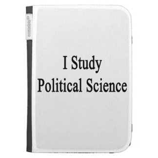 I Study Political Science Case For Kindle
