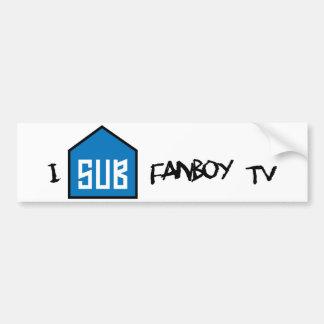 I Sub Fanboy bumper sticker