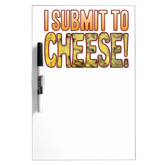 I Submit Blue Cheese Dry Erase Whiteboard