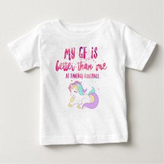 I Suck At Fantasy Football Short-Sleeve Unisex T-S Baby T-Shirt