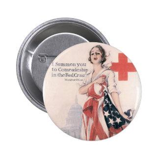 I Summon You To Comradeship 6 Cm Round Badge