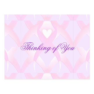 I Support,Breast Cancer Awareness_ Post Card