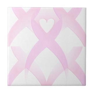 I Support,Breast Cancer Awareness_ Tile