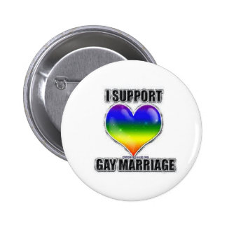 I support gay marriage button